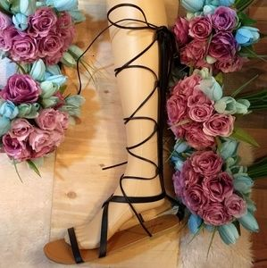 Tall & Strappy Gladiator Sandals